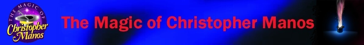 Magic of Christopher Manos Banner